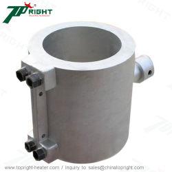 De snelle het Verwarmen Verwarmer van de Band van het Vat van het Aluminium van het Element Elektrische Gegoten