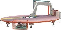 Rund-Geformte Kreisschaumgummi-Ausschnitt-Maschine Digital, die horizontalen Scherblock einkreist