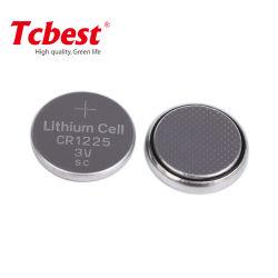 Cr1225 3,0V 50mAh botão de lítio CR celular1260 CR2032, CR2025, CR2477 de célula tipo moeda