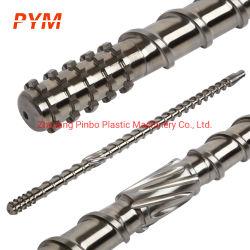 Bimetalic Twin Screw Barrel 35/75 나사 튜브 나사 실린더