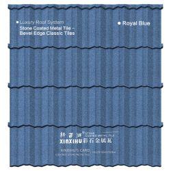 Golden Lieferant Fase Kante Fliese Meatal Dachziegel Nigeria Standard Baumaterial Aus Metallstahl-Fliesen