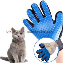 PET spazzolina per la pulizia Animali Animali Groming Massaggi cani Guanti