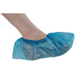 방수 파란 플라스틱 CPE 폴리에틸렌 처분할 수 있는 단화 덮개