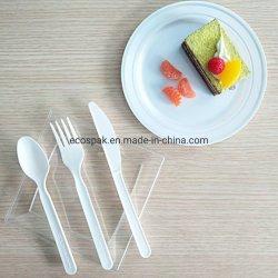 """Alimentos de alta qualidade Grau 7 biodegradáveis"""" PLA Panelas Talheres Faca"""