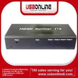 1x4 Mini Puerto HDMI el divisor (WSS-HDSP0104M)