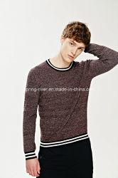 La fábrica Cotton Knit hombres Camiseta Cuello redondo