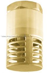 Heißes Forgen DN 15 bis DN 100 mit Messingfilter-Messingfußventil