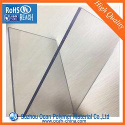 3mm épais feuille de plastique transparent en PVC extrudé avec film PE pour la flexion