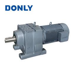 Donlyインラインシャフトフィートによって取付けられるRシリーズ螺旋形の変速機