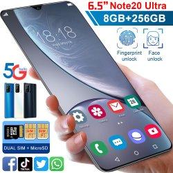 "Remarque20 Ultra 10core Téléphone Mobile 8g 256 g carte double 6,7"" Telefones Ultrabook plein écran Global Celulares Smartphone Google"