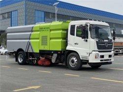 Dongfeng 10tons Straßen-Reinigung und ausgedehnte Fahrzeug-Vakuumstaub-Straßen-Kehrmaschine