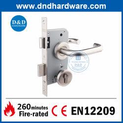 El marcado CE de hardware de acero inoxidable clave de seguridad Cerradura de puerta balseta