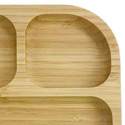 100% milieuvriendelijk Bamboo Plate-hout voor kinderen Bamboo Cutting Board