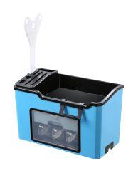 Armoire étanche en plastique de cuisine Spice Rack rack organisateur, comptoir de cuisine de stockage permanent