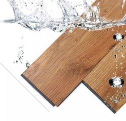 Ck Spc Пол щелкните толщиной 4 мм водонепроницаемый пластиковый виниловый пол дома оформление