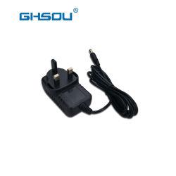 La fabbrica vende il caricatore BRITANNICO dell'adattatore 12V di potere 12W per i piccoli apparecchi Digital Equipment