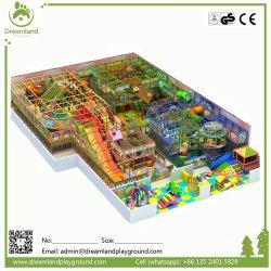 Salle de Gym de jungle personnalisé grand terrain de jeux en plastique de l'équipement commercial enfants Kids Indoor Soft Aire de jeux