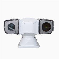 Интеллектуальное управление автомобилем установлен инфракрасный высокой скорости тепловой камеры PTZ