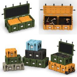 Boîte à outils du chariot en plastique du disque Boîtier étanche