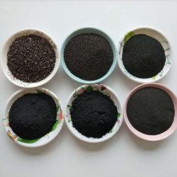 Polvo de hierro Fe polvo de hierro ferroso Pulveratum Ferrum hierro de reducción de polvo de la fábrica de polvo de hierro de reducción de malla 80 Polvo para forros de freno/ Pad (80.25)