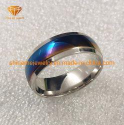 Корпус из титана ювелирных изделий кольцо ослепляет красочные 316L кольцо из нержавеющей стали украшения SSR1970