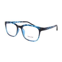 Frame van de Glazen van het Oog van de Grootte van de Kwaliteit van Eyewear RT van de Kleur van de Manier van de Douane van de Fabriek van Shenzhen het Nieuwe Model Zachte Grote Optische