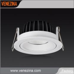 LED-Kardanring Downlight justierbares Aluminium-Form PFEILER Quellcer RoHS LED Downlight
