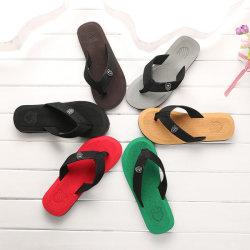 Los hombres clásicas zapatillas de moda de verano Playa Flip Flop zapatilla