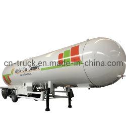새로운 반 24mt 26mt 28mt 30mt LPG 탱크 트레일러 LPG 트레일러 탱크