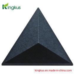 Papier-akustisches Vorstand-Faser-Material der Wand-3D und Decken-Fliese