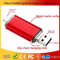 Nouveau type de calculateur d'Android-C 3 en 1 lecteur Flash USB OTG métal/Stick USB