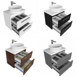 Neue Vanity Einheit mit Vanity Top und Oval Counter Top Waschbecken Badezimmerschrank mit Eitelkeit Top