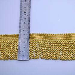 6.5Cm de haute qualité couleur or plus épais Bullion Fringe pour accessoires