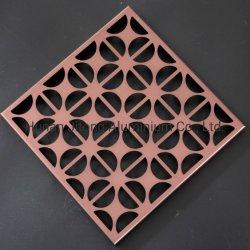 De aluminio de doble cara de hoja de Metal Expandido Panel talladas
