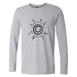 Design personalizado dos homens Manga Longa Tshirt