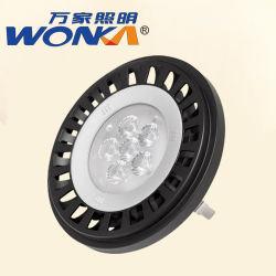 LED estándar PAR36 2700K 50W Reemplazo de halógenos AR111 exterior IP67 de resistencia al agua de las luces de bombilla de luz