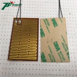 オイル鍋のKaptonのPolyimideの薄膜Piのヒーターの適用範囲が広いパッド