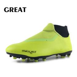 Il nuovo calcio su ordinazione di Greatshoe calza i caricamenti del sistema femminili di gioco del calcio di calcio di alta qualità dei pattini di gioco del calcio dell'uomo