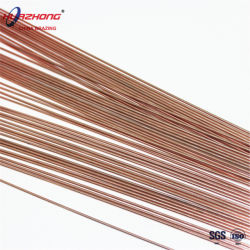 Condensador radiador/tubo de cobre de la soldadura de electrodos de soldadura plana de material de muestra gratuita de Chian la barra de cobre de fábrica El Alambrón de soldadura