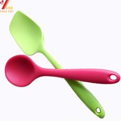 台所用品(XY-S-1)のための多彩なFDAの食品等級の台所用品のシリコーンの台所スプーンのシリコーンゴムのスプーン/赤ん坊のスプーンのスープ用のスプーンの赤ん坊の製品サラダスプーン