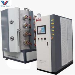 De Oro chapado de metal cromado Spray Multi Arc PVD de iones de máquina de recubrimiento vacío