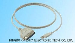 USB-zu-Parallel-Druckerkabel Typ A M bis Cn36m