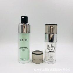 30ml, 45ml de Natuurlijke Fles Zonder lucht van de Schoonheidsmiddelen van de Vitaminen van de Zorg van de Huid voor de Room van het Gezicht van de Isolatie van de Make-up