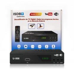 Casella superiore stabilita piena del prodotto della Costa Rica dell'automobile della ricevente pronta HD ISDB-T di Digitahi TV