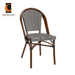 Rost-Beweis-Bambus, der im Freien Aluminiumrattan-Gaststätte-Möbel-Stuhl (BC-08029, schaut)