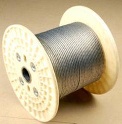 A Gsw por imersão a quente de aço galvanizado revestido de zinco permanecer Guy Wire