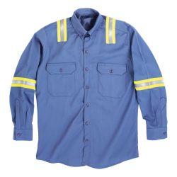 Workwear met het Weerspiegelende Vuurvaste Jasje van de Veiligheid van de Band