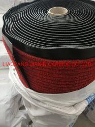 Doppelter Streifen-Teppich - hergestellt durch Polyester-Stapel 100% mit Belüftung-Schutzträger