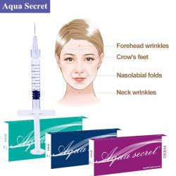 L'acide hyaluronique la mésothérapie seringue remplissage dermique d'injection