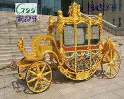 Het luxe Koninklijke Vervoer van het Trekpaard van het Paard